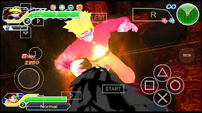 Naruto DBZ TTT mods