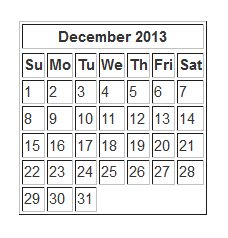 How To Create A Simple Calendar Using HTML | Justin Woodie