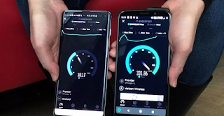 5G Internet speed