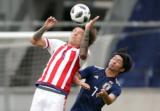 مشاهدة مباراة اليابان وباراجواي