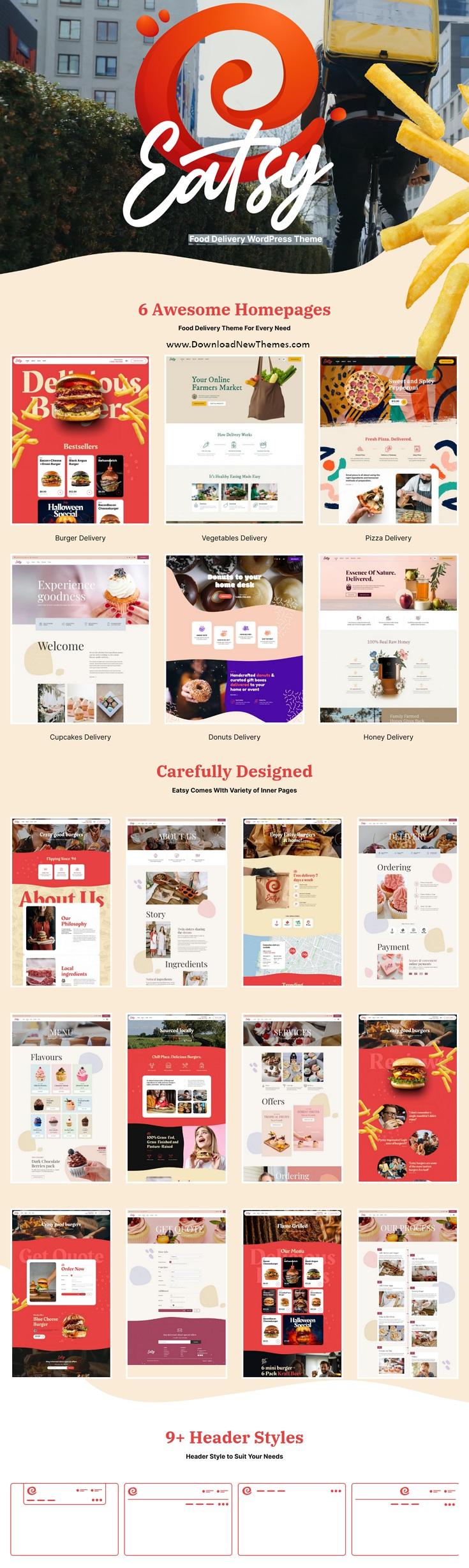 Food Delivery WordPress Theme