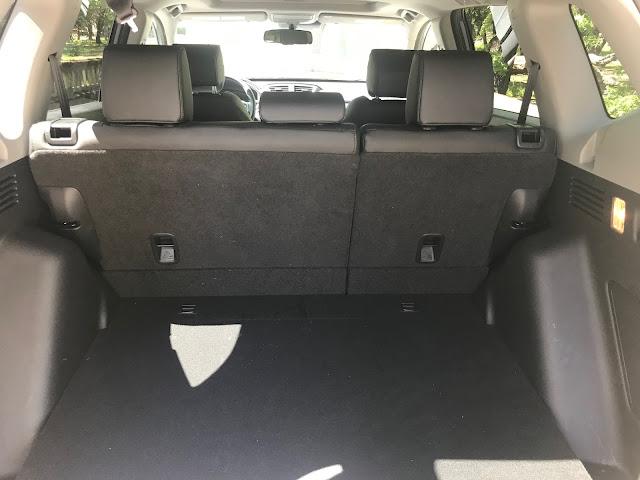 Rear cargo area in 2020 Honda CR-V Touring