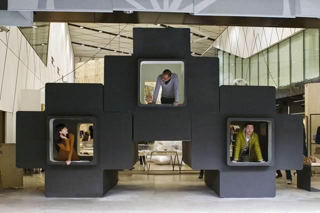 micro house by studio liu lubin