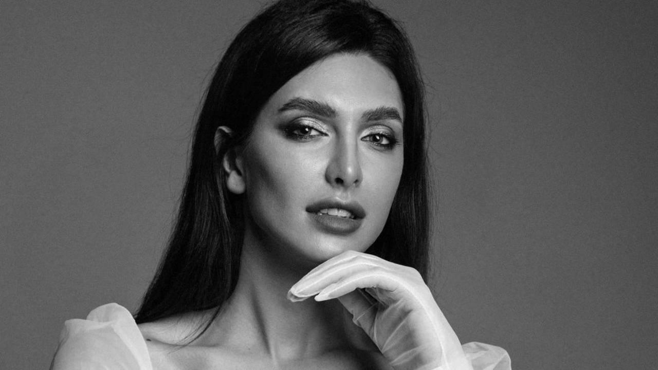Karina Minaeva – Most Beautiful Trans Model in Black and White Photoshoot