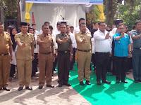 Danramil 17/DB Wakili Dandim 0208/Asahan Hadiri Pelantikan Relawan Penggiat Anti Narkoba Kota Tanjung Balai