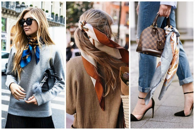 Usando lenço no dia-a-dia: 6 maneiras diferentes de usar acessórios