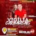 """Nicolau e Alexsandra realizam passeata da vigília alertando que """" quem Ama Carnaubais vota no professor"""""""