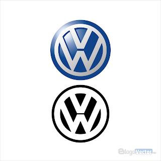 VW Volkswagen Logo vector (.cdr)