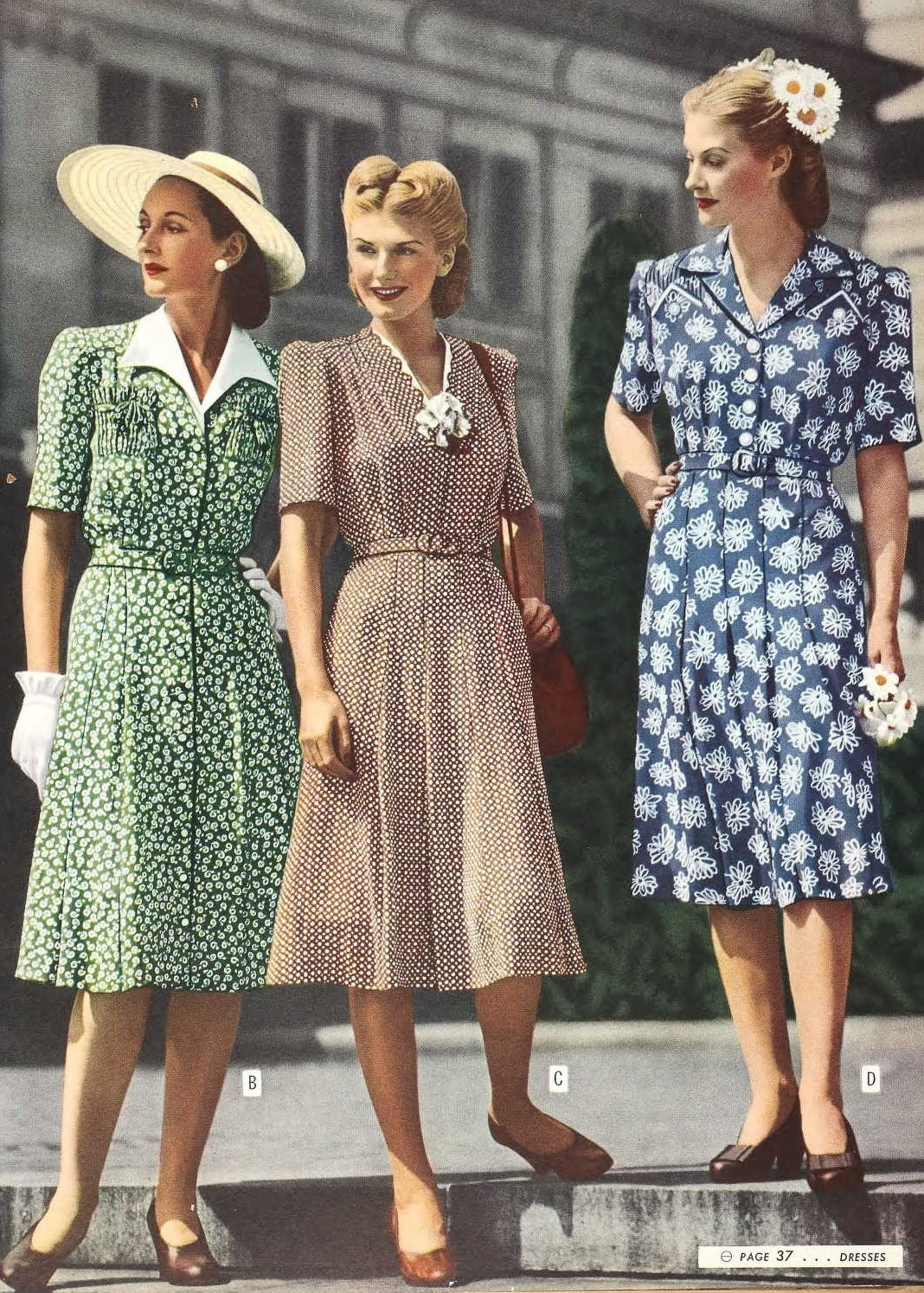 1940s Style Dresses Fashion Clothing: Snapped Garters: 40 Years Of Fashion Evolution Before Your