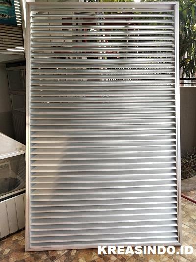 Harga Kisi-kisi Aluminium dan Besi Terbaru