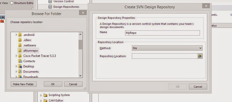 how to make file on svn