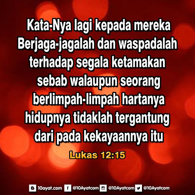Lukas 12:15