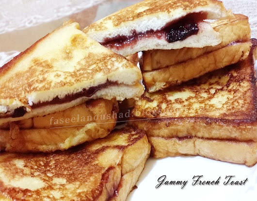 Jammy French Toast