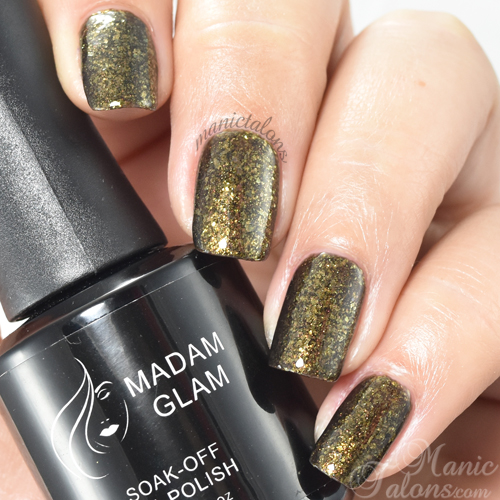 Madam Glam Gel Polish Saturday Love Swatch