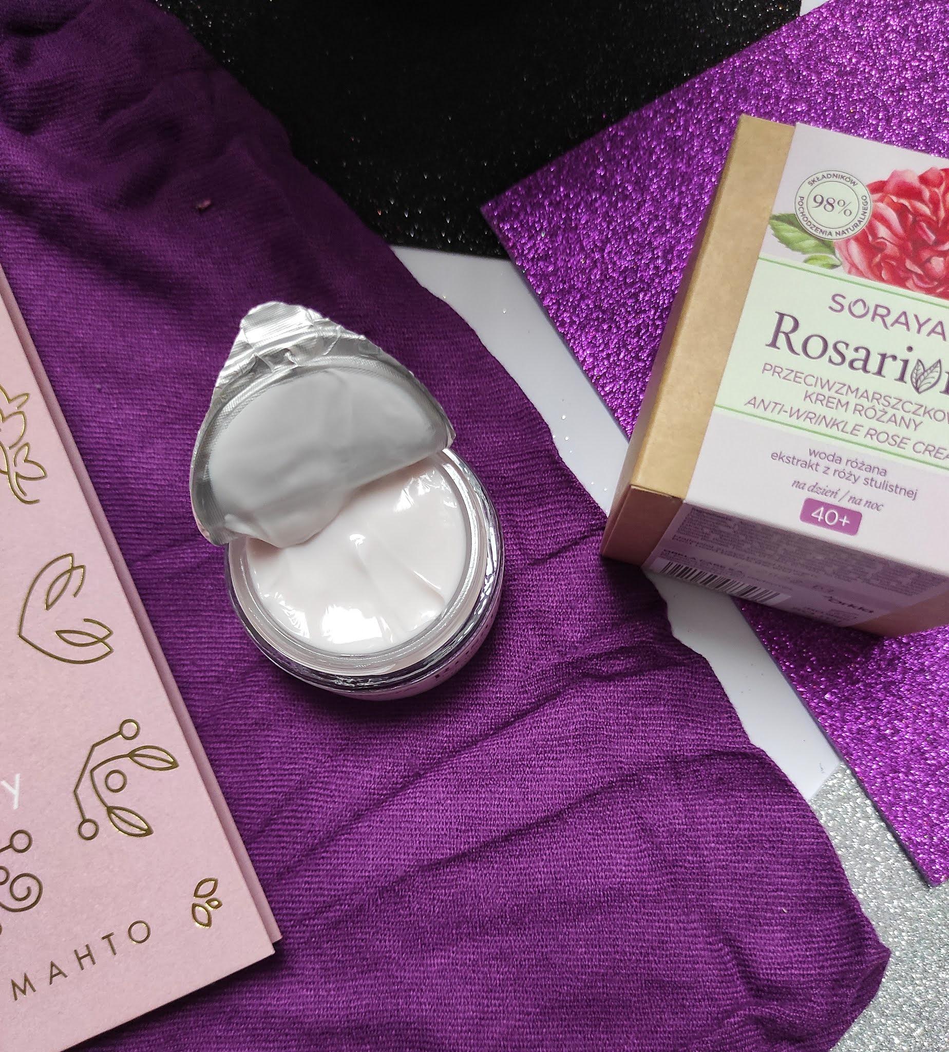 Przeciwzmarszczkowy krem różany Soraya Rosarium