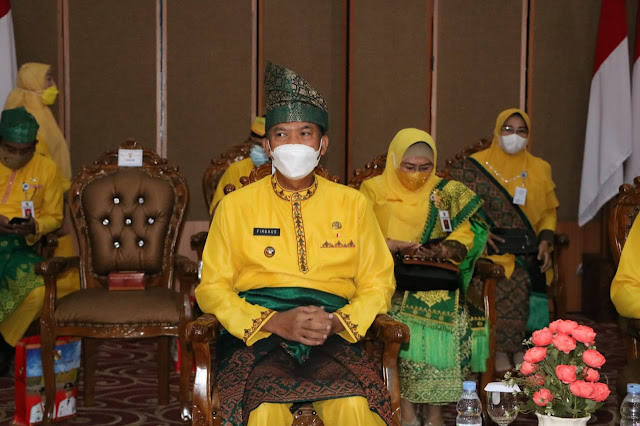 "Perayaan HUT Pekanbaru, Walikota: Kita ""Kuat"" Hadapi Covid-19"