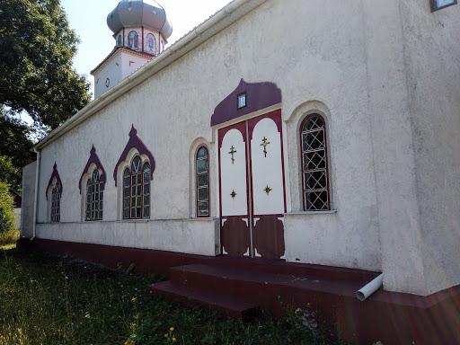 Райполе. Вул. Центральна. Церква св. Димитрія Солунського