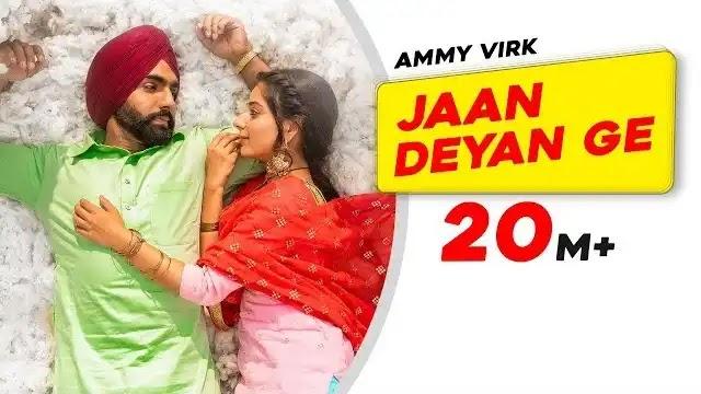 Jaan Deyange lyrics   Ammy Virk   Bpraak   Jaani