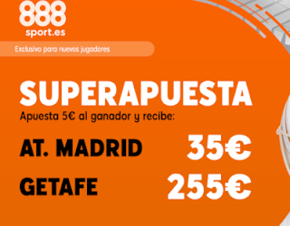 888sport superapuesta liga Atletico vs Getafe 18 agosto 2019
