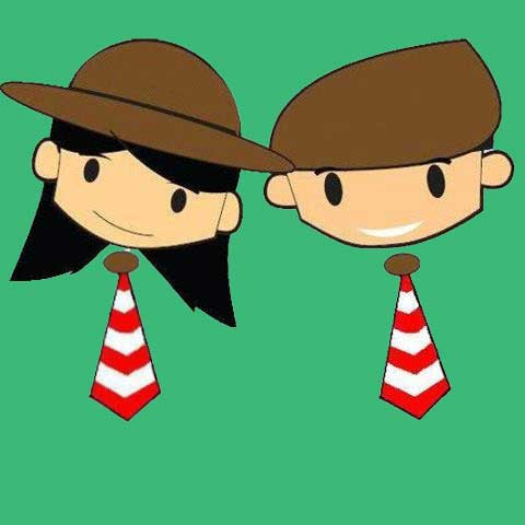 Unduh 760  Gambar Animasi Anak Pramuka  Terbaru