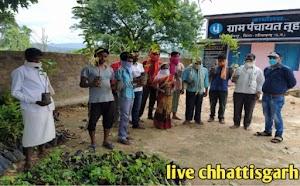 छत्तीसगढ़ प्रदेश भर में बारी योजना अंतर्गत साग सब्जी एवं फलधार पौधे किसानों को वितरण किए गए।cg badi yojana