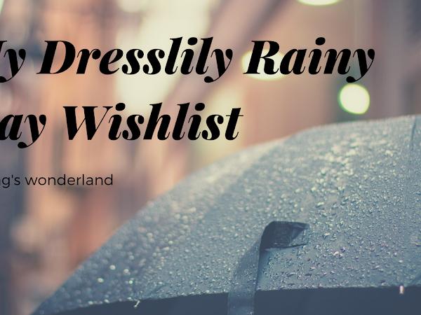 My Dresslily Rainy Day Wishlist