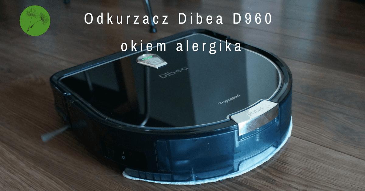 Zaawansowane Dibea D960 opinia i recenzja z domu alergika - Urok Życia Alergika UI03