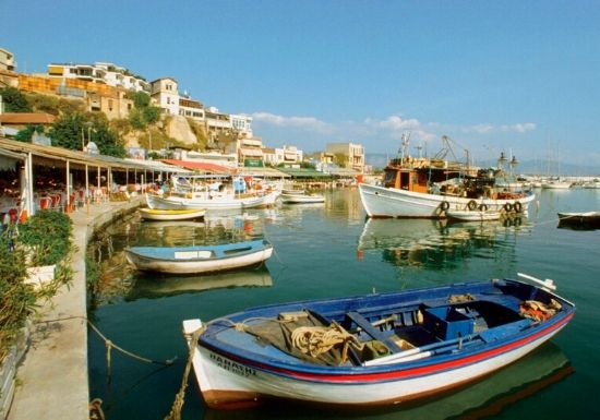 Piraeus, Greece | Happy in Red