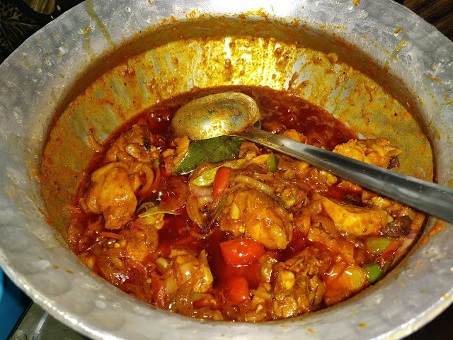 spicy chicken curry recipe at home