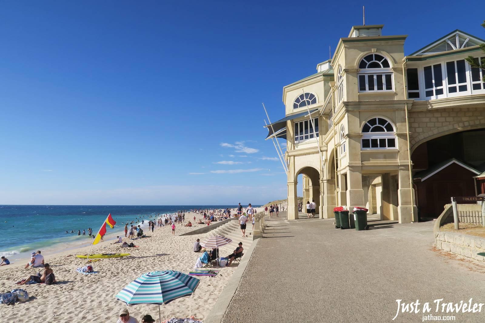 澳洲-伯斯-景點-推薦-科特索海灘-Cottesloe-Beach-必玩-必去-自由行-行程-攻略-旅遊-一日遊-二日遊-Perth-Travel-Tourist-Attraction