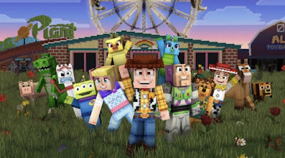 Toy Story 4, the Minecraft, Toy Story series, Minecraft developer, the minecraft song, latest gaming news, all news, New Minecraft Toy Story, toy story frozen crossover, toy story fanfiction crossover, Minecraft Toy Story Revealed,