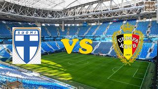موعد المباراة بين منتخب فنلندا و منتخب بلجيكا ( يورو 2020 ) 21/6/2021