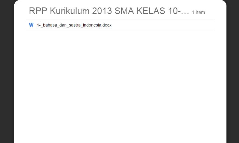 New Revisi Rpp Kurikulum 2013 SMA Kelas 10-11-12 Bahasa Dan SastraIndonesia Update Lengkap Terbaru