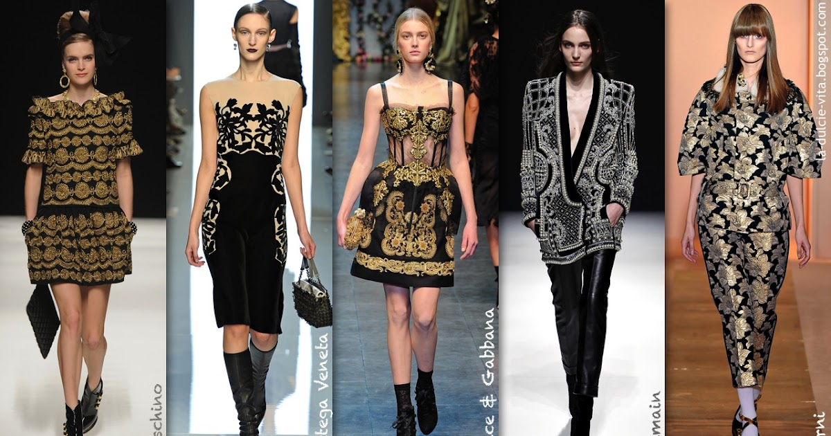 Fashion Designers Inspired By Baroque