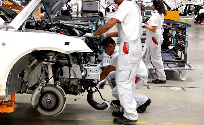 La industria manufacturera reporta  la tendencia de empleo más alta con +16% y es el sector automotriz el que más genera empleos. (Foto: Audi)