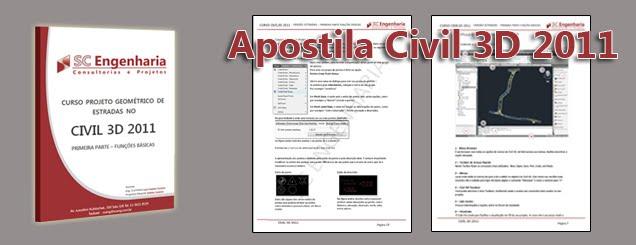 apostila autocad civil 3d 2011