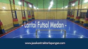Jual Lantai Lapangan Futsal Interlock Medan