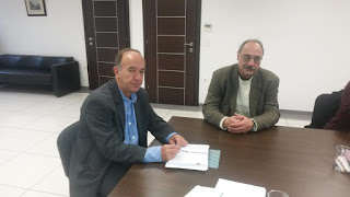 «Συνάντηση του Αντιπεριφερειάρχη Δυτικού Τομέα κ. Τζόκα, με τον Πρόεδρο του ΟΚΑΝΑ κ. Καφετζόπουλο».