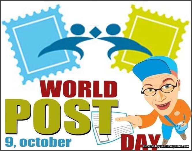 Sambutan Hari Pos Sedunia
