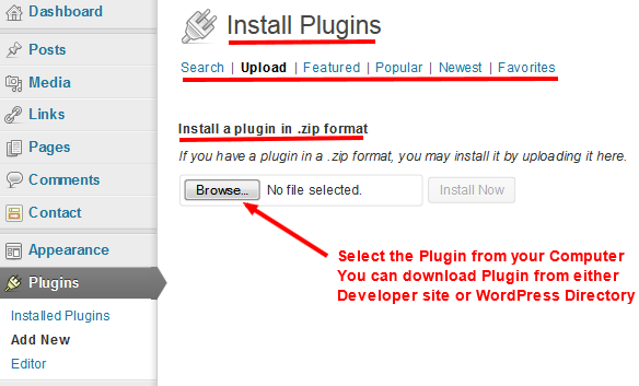 WordPress Plugins Installation - Image 2