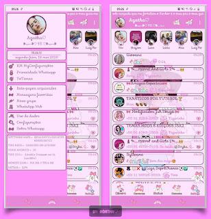 Random Theme For YOWhatsApp & KM WhatsApp By Agatha