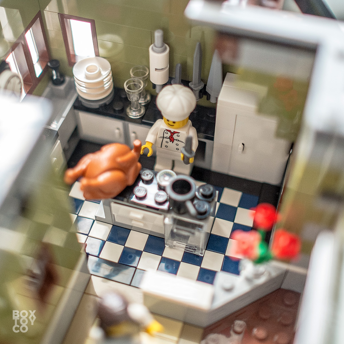 Lego Restaurant Kitchen