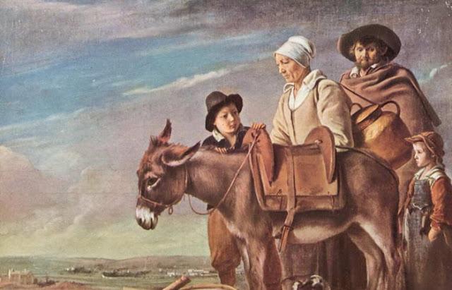 """A obra dos irmãos Le Nain """"A família da leiteira"""" (cerca de 1641)"""