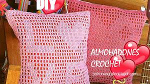 Patrones Almohadones de San Valentín ❤️ Paso a paso crochet