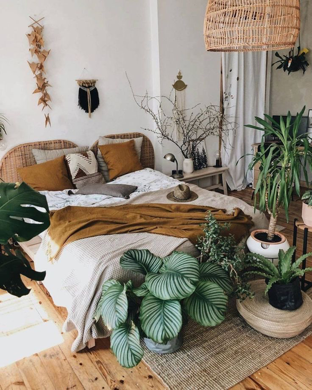Boho Decor Ideas-Bedroom