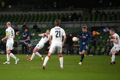 ملخص واهداف مباراة ارسنال ودوندالك (4-2) الدوري الاوروبي