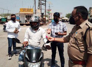 जौनपुर : लॉकडाउन का उल्लंघन करने वालों पर हुई कार्यवाही | #NayaSabera