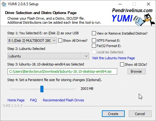 Cara Dual Boot Sistem Operasi dengan USB Flashdisk - Yumi 2