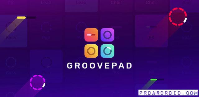 Groovepad النسخة المدفوعة