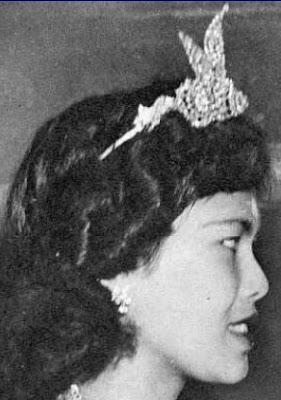 diamond coronation tiara queen sirikit of thailand
